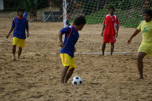 soccer on son tai krabi